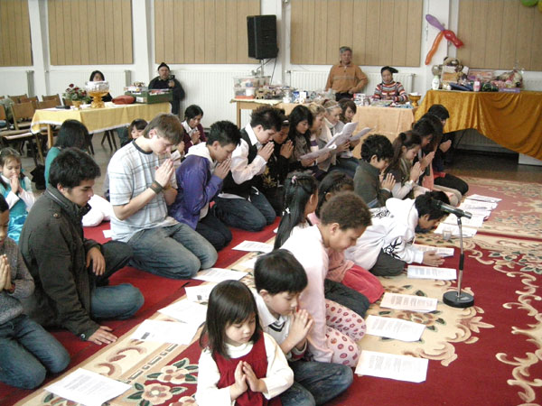 Thai-Kindertag in Berlin.