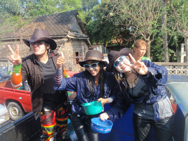 Songkran in Phrae