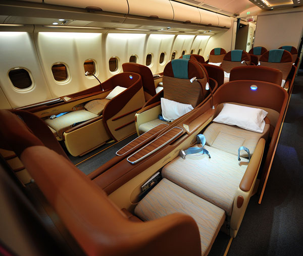 OMAN AIR Cabin First Class