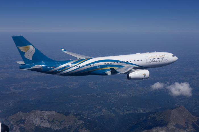 OMAN AIR Flight