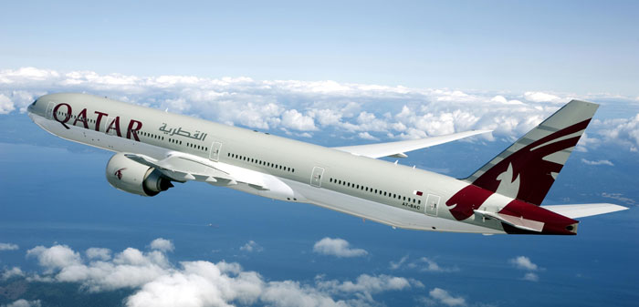 Boeing 777 der QATAR Airways