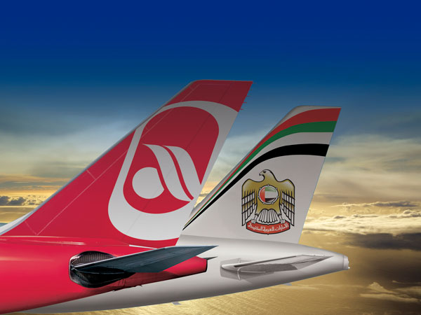 airberlin / Etihad Partnerschaft