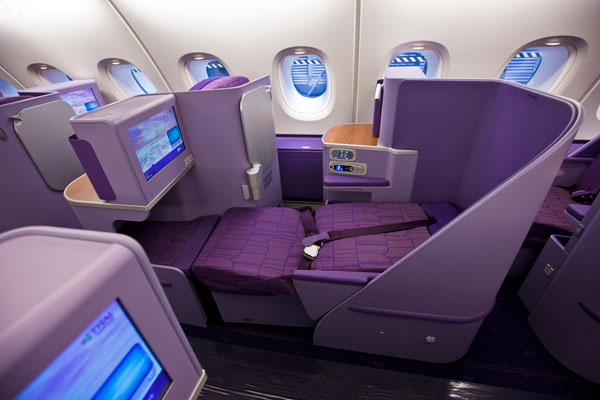 THAI Airways Royal Silk Class