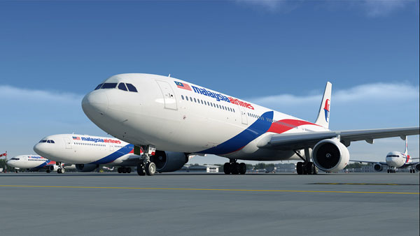 Flieger der Malaysia Airlines