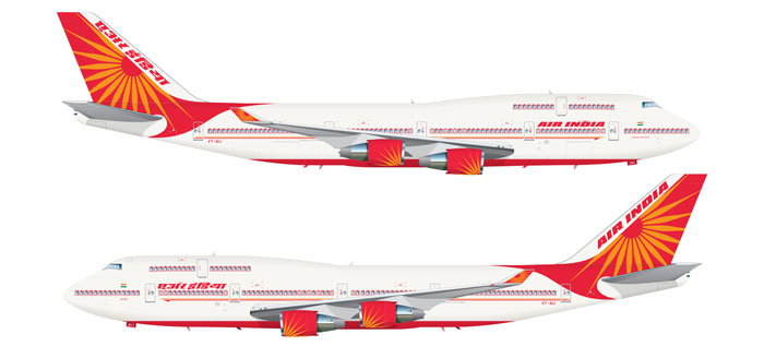 Air India Machine