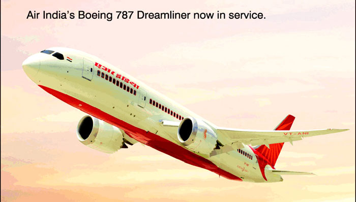 Boeing der Air India